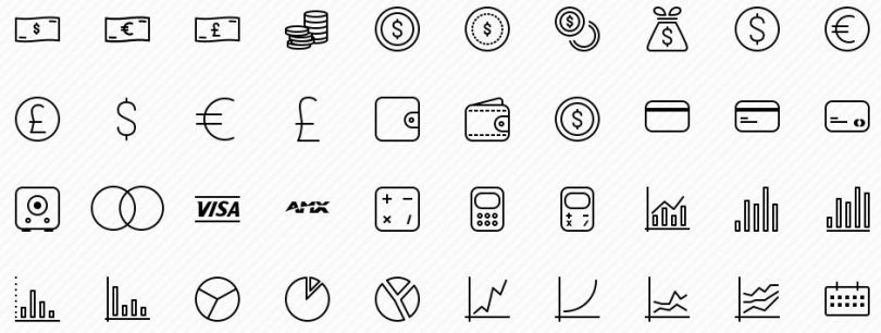 preview - business vector icons