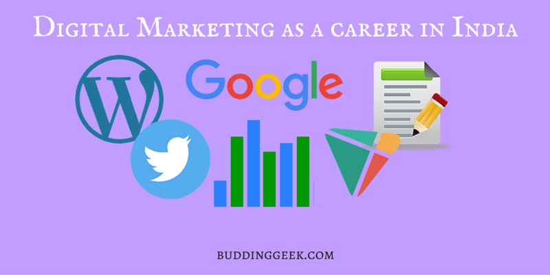 Digital Marketing as a career in India