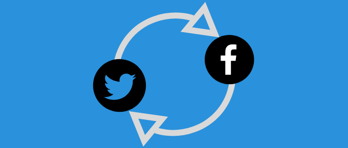Cover Photo - How to share tweet on facebook