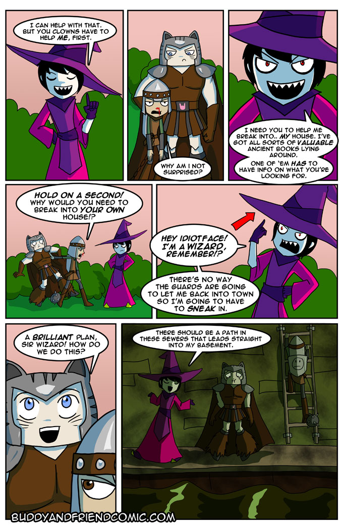 That's not an evil wizard at all!