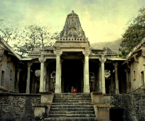 Temple in Bhangarh