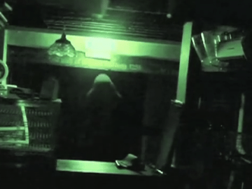 Ghost caught on CCTV camera at Britain's oldest pub