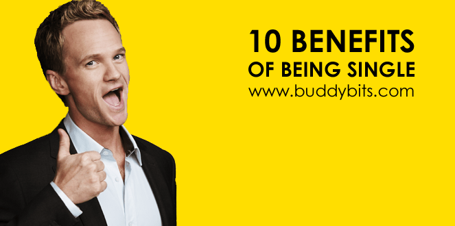 10 Benefits of Being Single