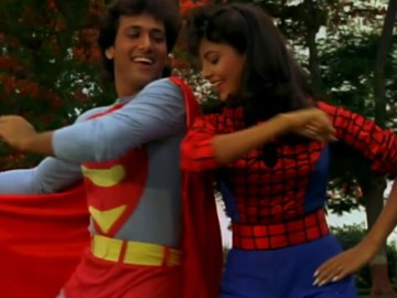 Govinda as Superman Dance