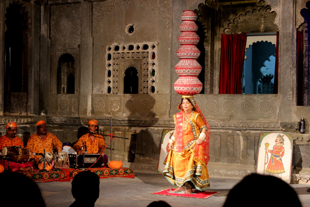 Bhavai Dance in Bagore Ki Haveli - Things to do in Udaipur