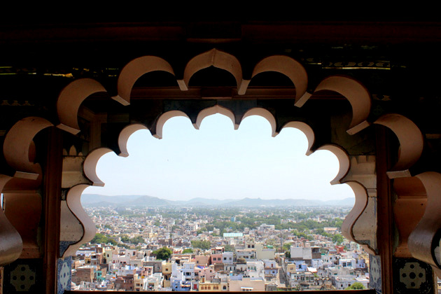 View from City Palace - Things to do in Udaipur
