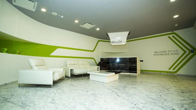 The Reception - Grabon Office