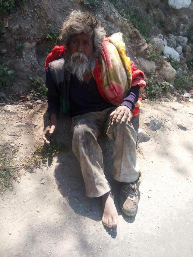 How this youth transformed life of a beggar is inspiring!