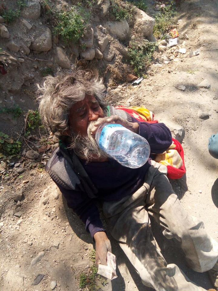 How this youth transformed life of a beggar is inspiring! 2