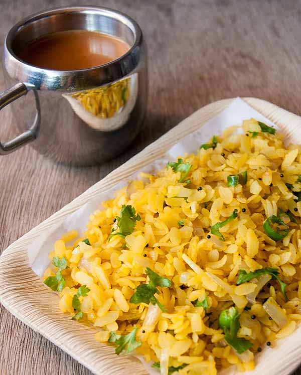 Poha 9 Healthier alternatives of Maggi