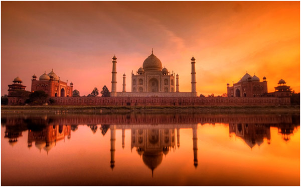 Taj Mahal Incredible India