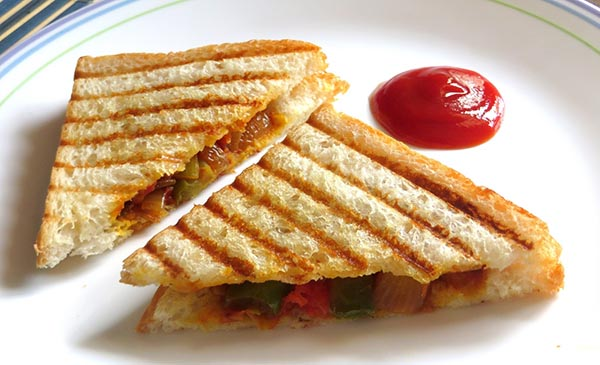 Veg Sandwich 10 Ideas for a Healthy and a Quick Breakfast