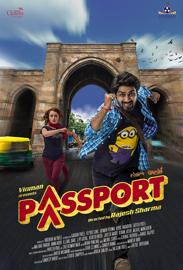 Gujarati movie Passport Poster