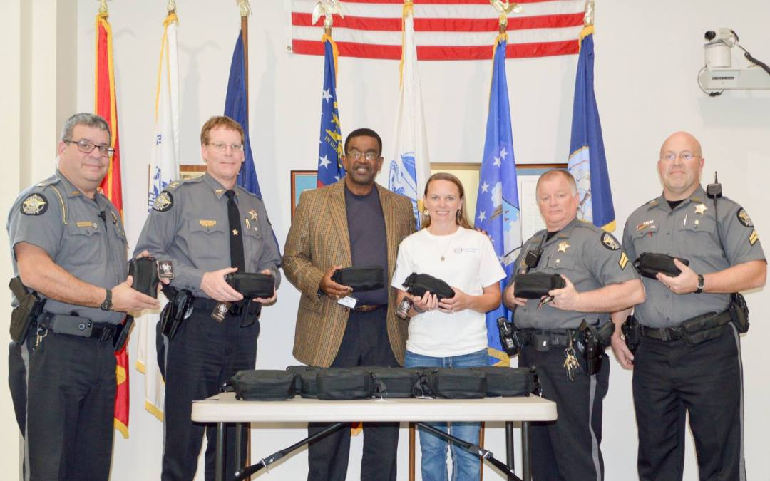 Buddy Christian Foundation Presents Kits to the Clarke County Sheriff's Office
