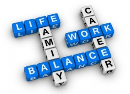 a healthy balance, A Healthy Balance Between Work and Home.