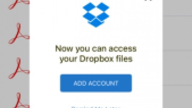 Adobe Integration with Dropbox