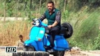 Watch Salman Driving A Scooter During Sultan Shooting In UP