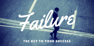 ailure is the key to your success