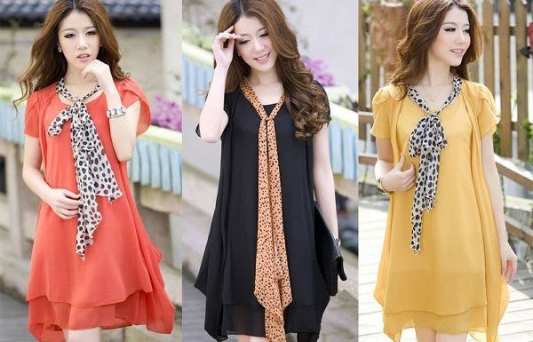 Summer Fashion Scarves Trends  For Girls
