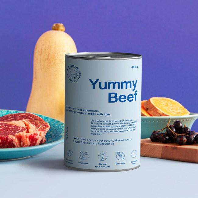buddy pet foods_nyttig hundmat med nötkött