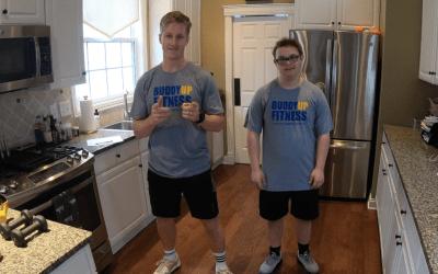 Will and Sarah Inspire Via Buddy Up Tennis Virtual Programming