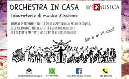 Orchestra in Casa – Casa della Musica