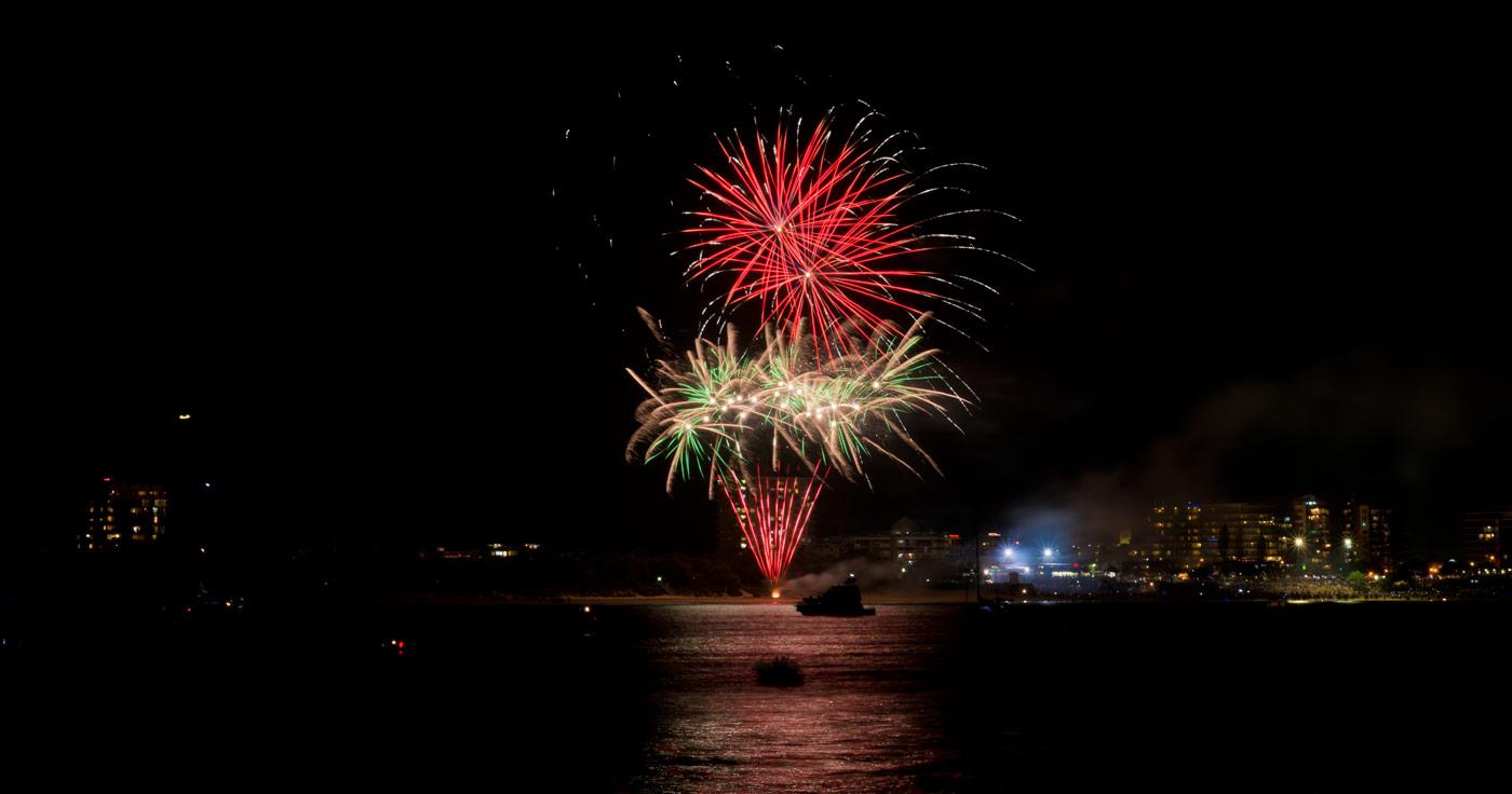 Mooloolaba fireworks