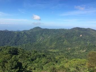 View from below Minca