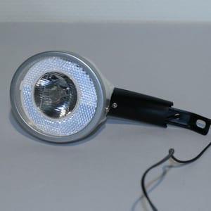 Witte naafdynamo koplamp