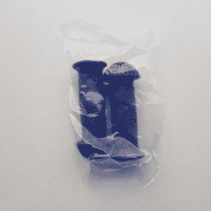 Kinderfiets handvatten set blauw