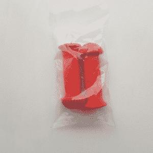 handvatten kinderfiets rood