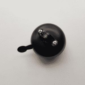 Grote dingdong bel mat zwart