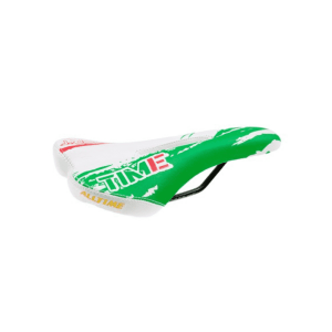 Selle Alltime racefiets zadel Groen / wit