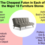 Cheapest Futon Sofa Beds At Ikea Wayfair Amazon More Budget Friendly Furnishing