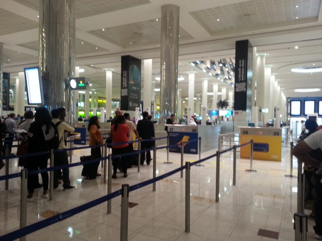 IMMIGRATION DUBAI AIRPORT