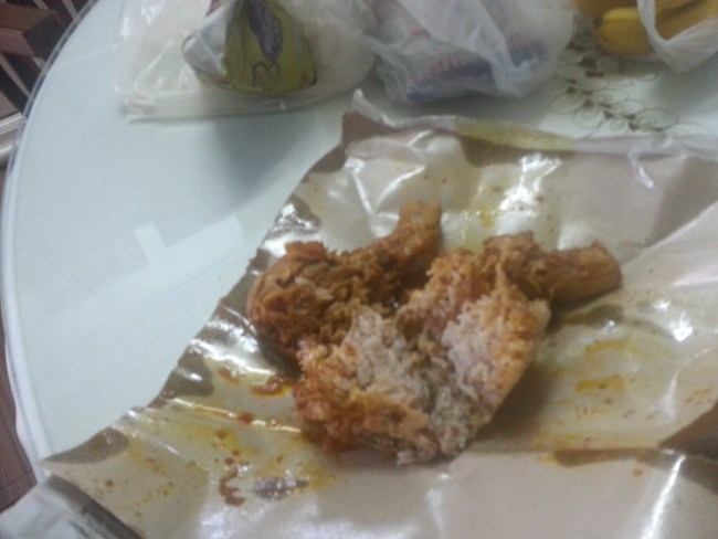 NASI DAGANG WITH CHICKEN