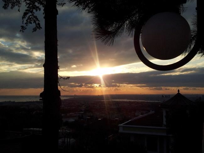 SUNSET FROM CAMLIJA HILL