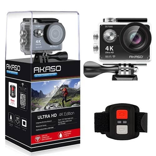 Akaso Ek7000 4k Wifi Sports Action Camera Review 2020