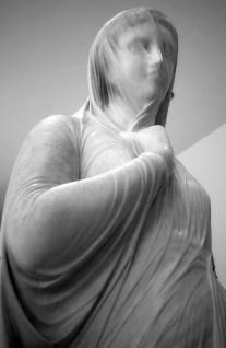 Sculptures in Salar Jung Museum in Hyderabad