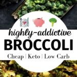 roasted broccoli keto