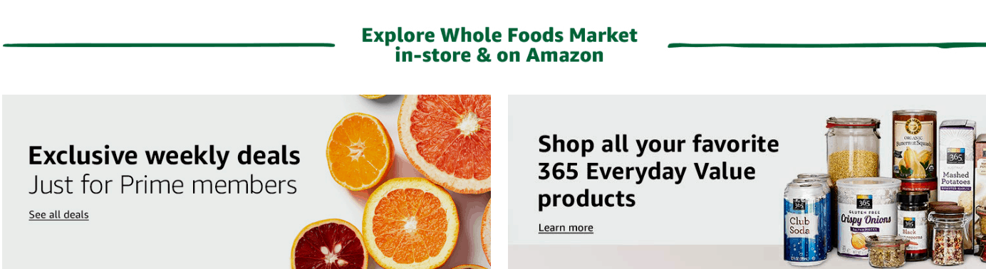 amazon hacks Whole Foods deals