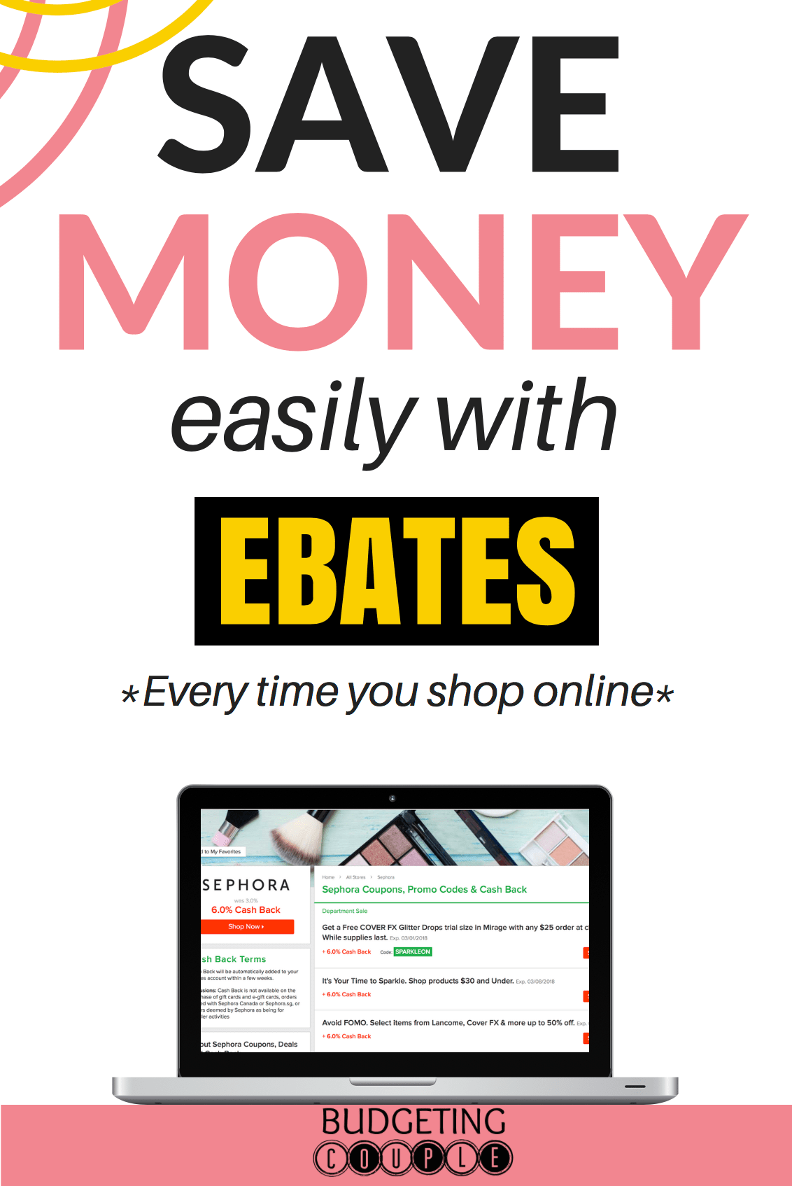 do i have to shop online to use ebates