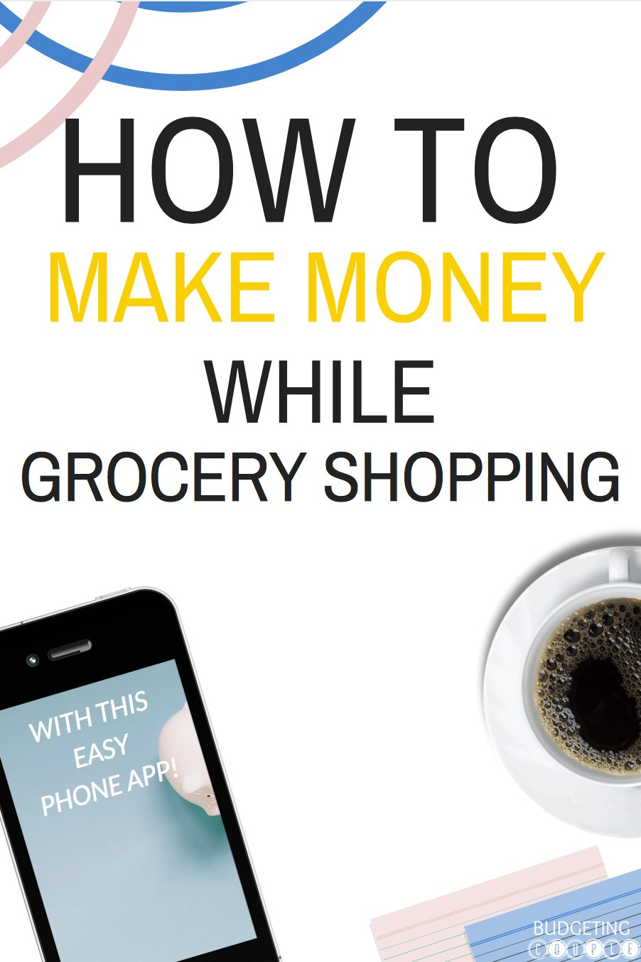 How to Make Money Grocery Shopping With An Easy Phone App!