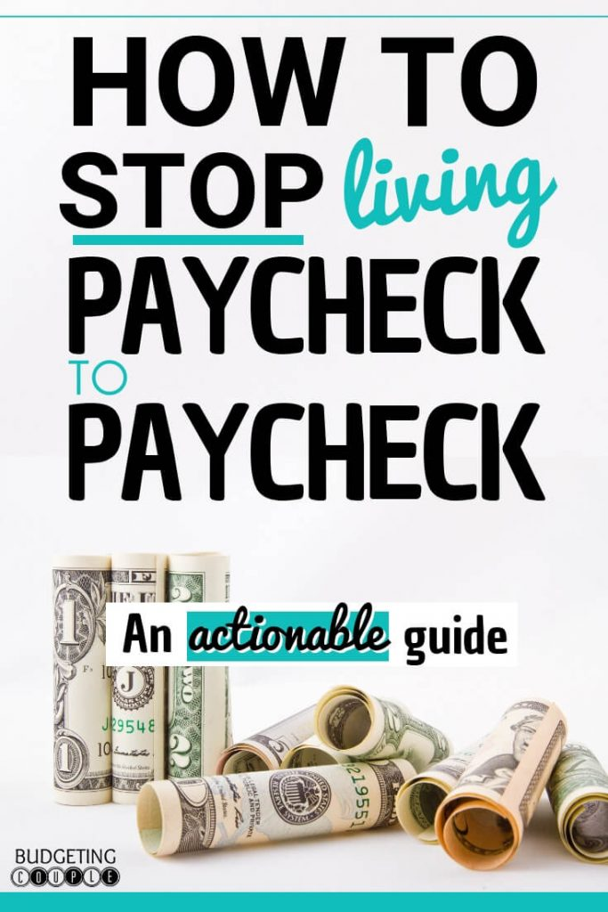 How to stop living paycheck, save money every month