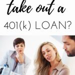 How my 401(k) loan ended up costing us almost $1,000,000 in future earnings.