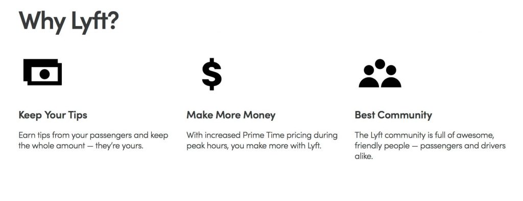 How to make $100 a day, Lyft