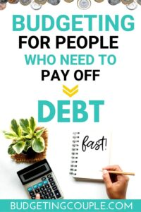 How to Budget To Pay Off Debt-2