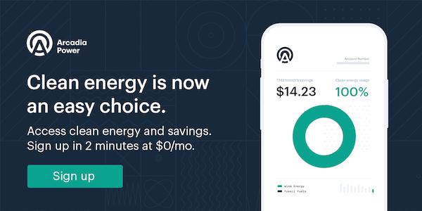 Arcardia Power Saving Money and Saving Energy