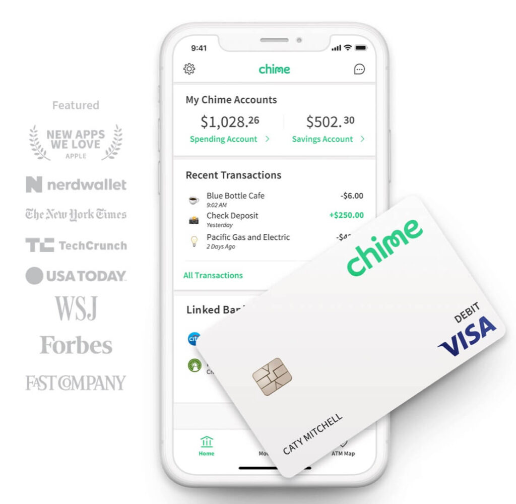 best free checking accounts: Chime Bank
