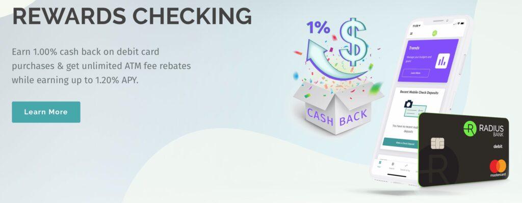 best free checking account: radius bank